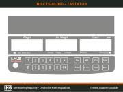 IHG-CTS-60000-Tastatur