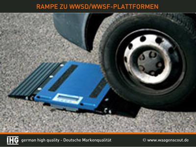 Rampe zu Platten WWSD/WWSF