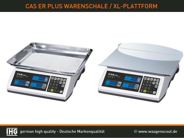 ER plus Warenschale+XL-Plattform